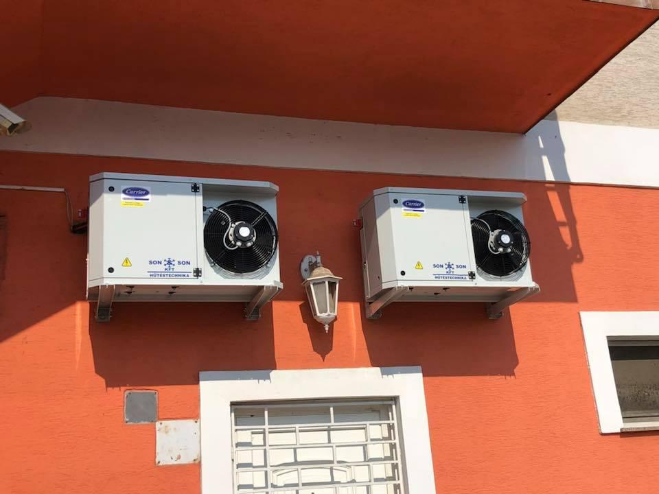 Katimami Kültéri egység Sonandson Hűtéstechnika